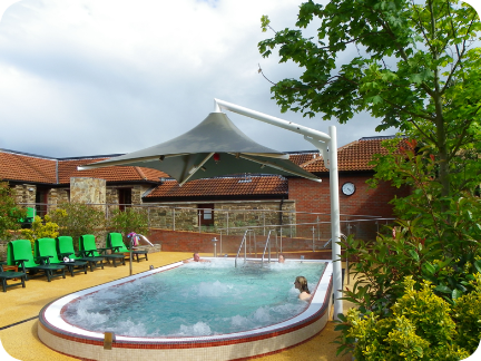 New Spa Pool at Wye Leisure